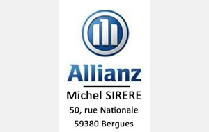 Allianz - Agent Michel SIRERE - Rue Nationale, Bergues